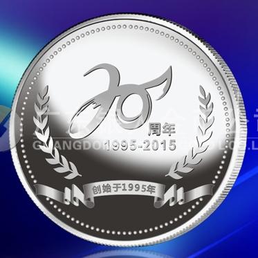 2015年2月   万博体育app官方下载广州宝迪纪念银章、制作纪念银币