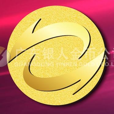 2015年3月万博体育app官方下载 铸造千足金纯金纪念徽章、黄金纪念徽章万博体育app官方下载