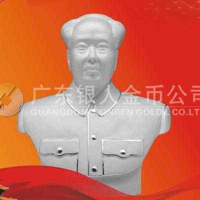 纯银毛主席像银制品、纯银毛主席纪念品、毛主席像礼品