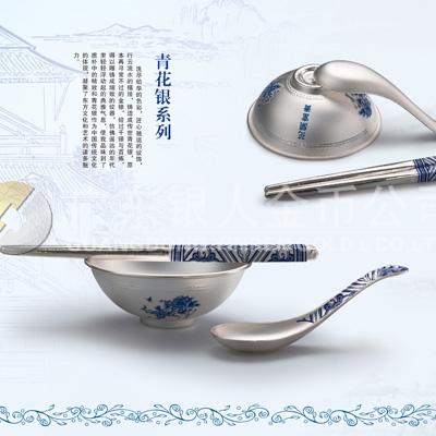 纯银筷子制作,纯银勺子万博体育app官方下载,制作银碗筷子