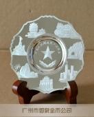 纯银银盘万博体育app官方下载,纯银银盘定做,广州纯银银盘制作厂家
