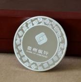 庆祝赣州银行吉安分行开业庆典成立银质纪念章