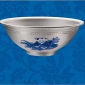 纯银银碗定造,铸造纯银工艺品,制造纯银银碗