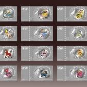 羊年贺岁纪念银钞万博体育app官方下载纯银钞定做银钞制作万博manbetx登陆电脑版钞