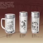 纯银水杯制作纯银保温杯定做纯银银杯万博体育app官方下载银质水杯