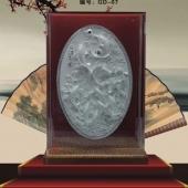 鲤鱼跃龙门纯银奖盘/纯银奖碟/纯银银碟/纯银盘生产铸造