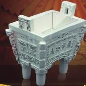 成功宝鼎纯银工艺品工厂生产铸造定做纯银工艺品