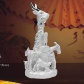 五羊雕像纯银工艺品、五羊雕塑纯银工艺品