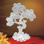 纯银摇钱树