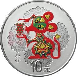2020中国庚子(鼠)年万博manbetx登陆电脑版万博maxbet客户端下载30克圆形银质彩色万博maxbet客户端下载