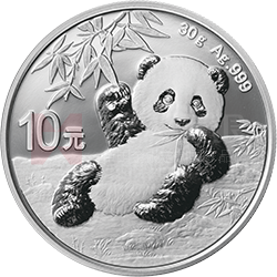 2020版熊猫万博manbetx登陆电脑版万博maxbet客户端下载30克圆形银质万博maxbet客户端下载